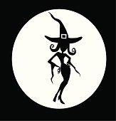 witch bw