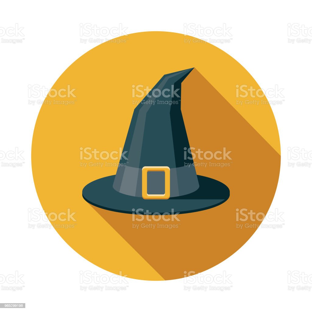 Witch Flat Design Fantasy Icon royalty-free witch flat design fantasy icon stock vector art & more images of adventure