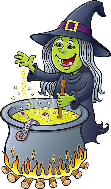 [Image: witch-stirring-bubbling-cauldron-vector-...G_w1cQSm8=]