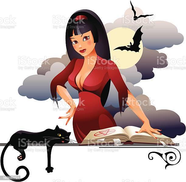 Witch with a cat vector id165685721?b=1&k=6&m=165685721&s=612x612&h=ncwuuqn0lkch4qmwbakwruj8qdw dddcwlr sklmw5k=