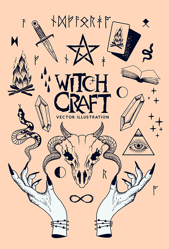 Witchcraft Objects of The Occult