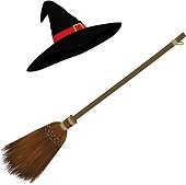 Witch's accessories