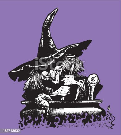 Witch's Cauldron - Halloween