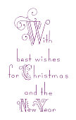 With Best Wishes for Christmas and the New Year