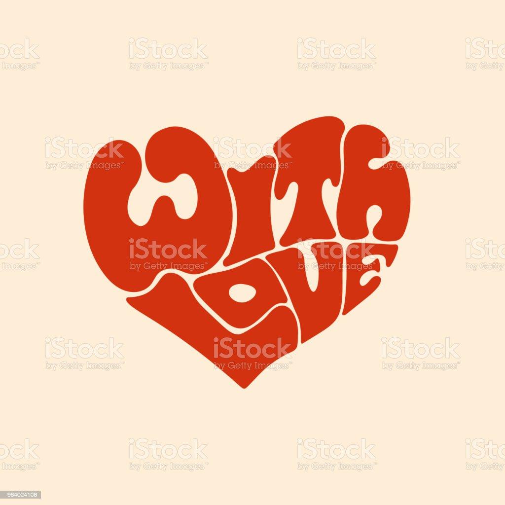 Image Avec Des Coeur avec des lettres de coeur amour rouge – cliparts vectoriels et plus