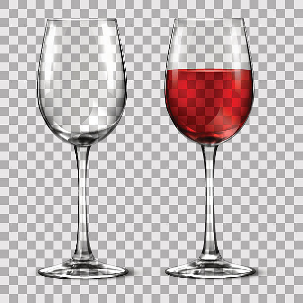 with wine glass with wine glass no people stock illustrations