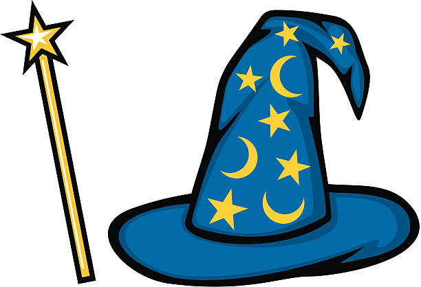 royalty free wizard clip art vector images illustrations istock