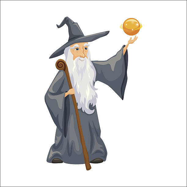 Best Merlin The Wizard Illustrations, Royalty-Free Vector ...