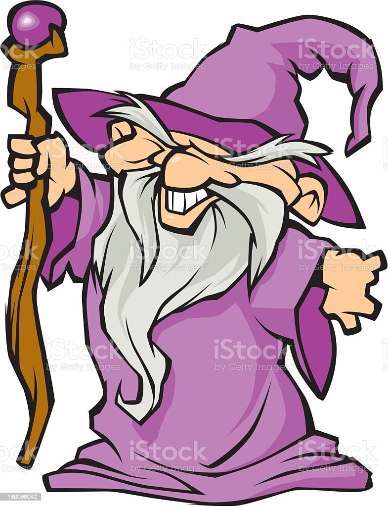 Wizard royalty-free stock vector art