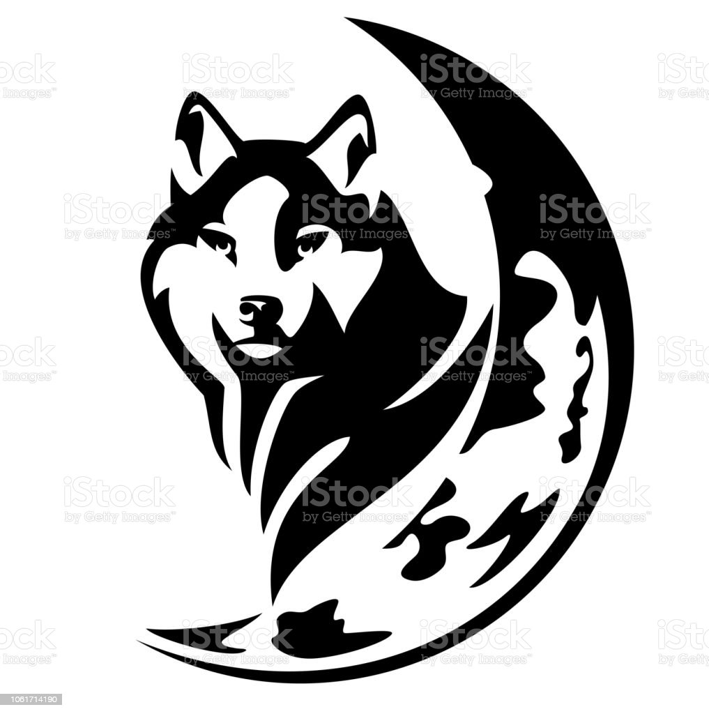 wolf and moon vector design stock illustration download image now istock wolf and moon vector design stock illustration download image now istock