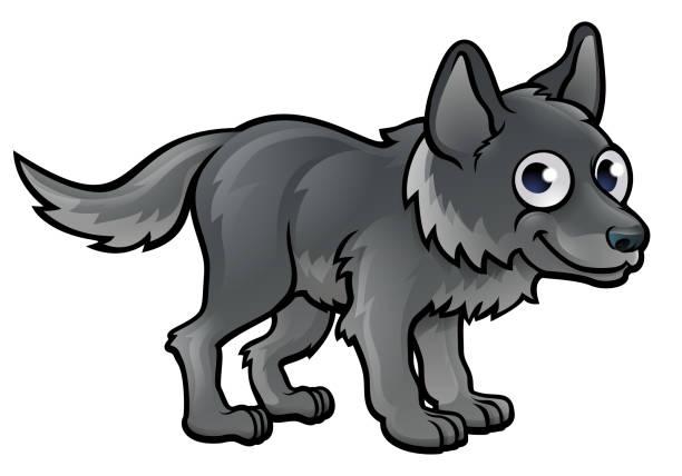 Zeichentrick Wolf