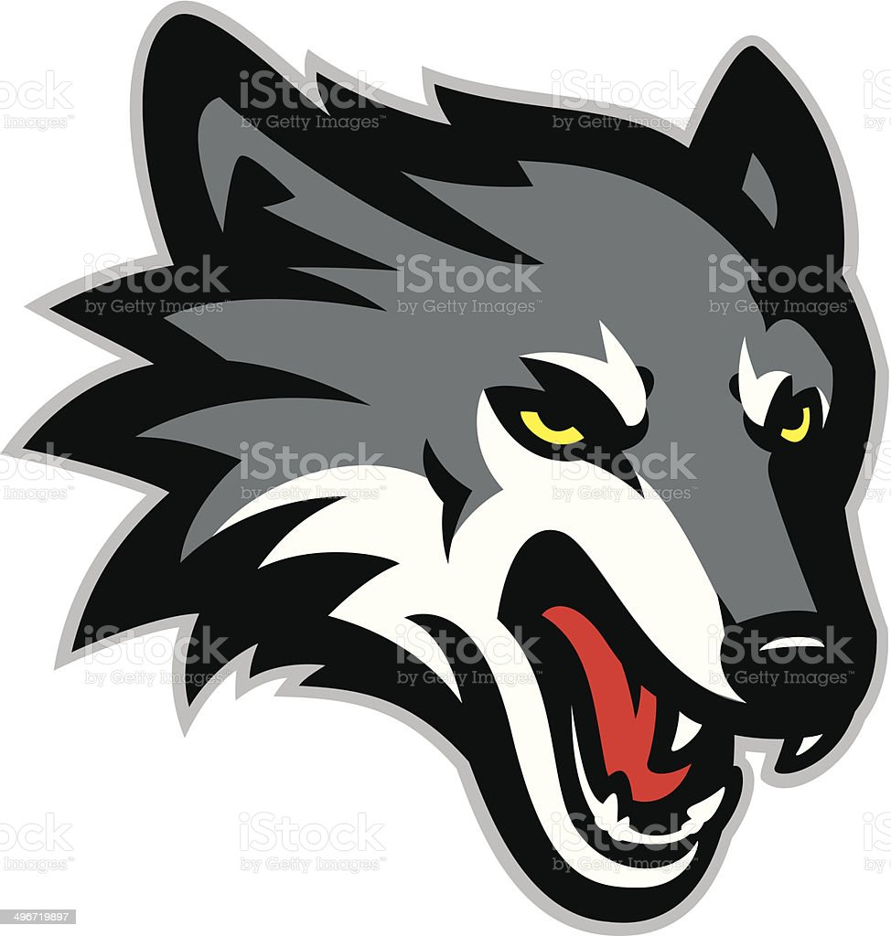royalty free wolf teeth clip art vector images illustrations istock rh istockphoto com clipart wolf head silhouette clip art wolf face