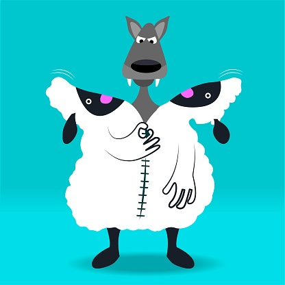 Wolf in a sheep costume