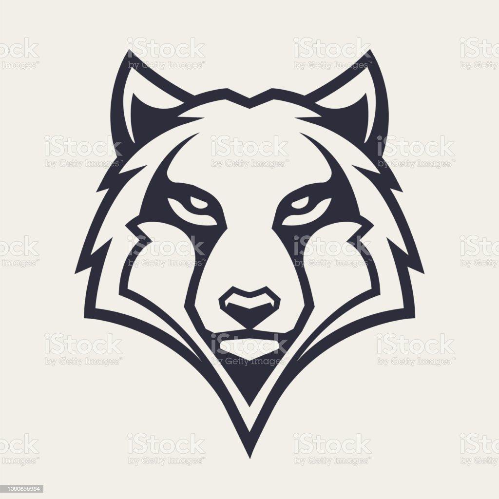 Loup mascotte Vector Icon loup mascotte vector icon vecteurs libres de droits et plus d'images vectorielles de art libre de droits