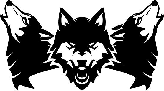 Wolf Pack Ink Design