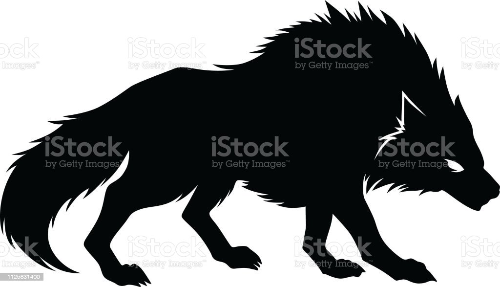 狼のシルエット ベクトル オオカミのベクターアート素材や画像を多数ご用意 Istock