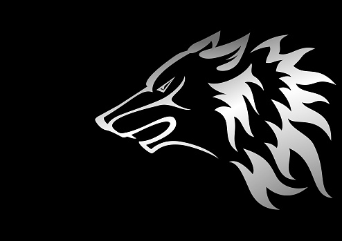 Wolf symbol design
