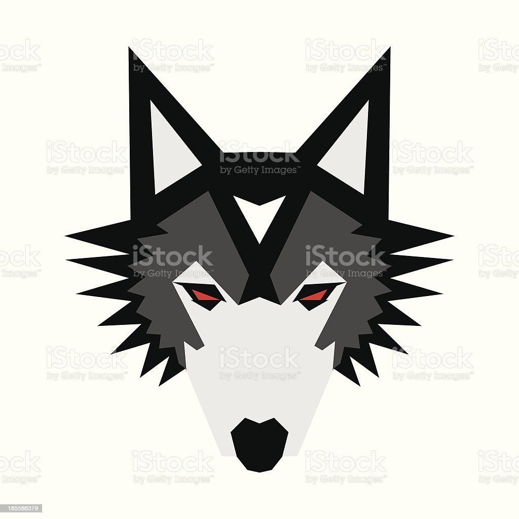 wolf royalty-free wolf stock vector art & more images of animal