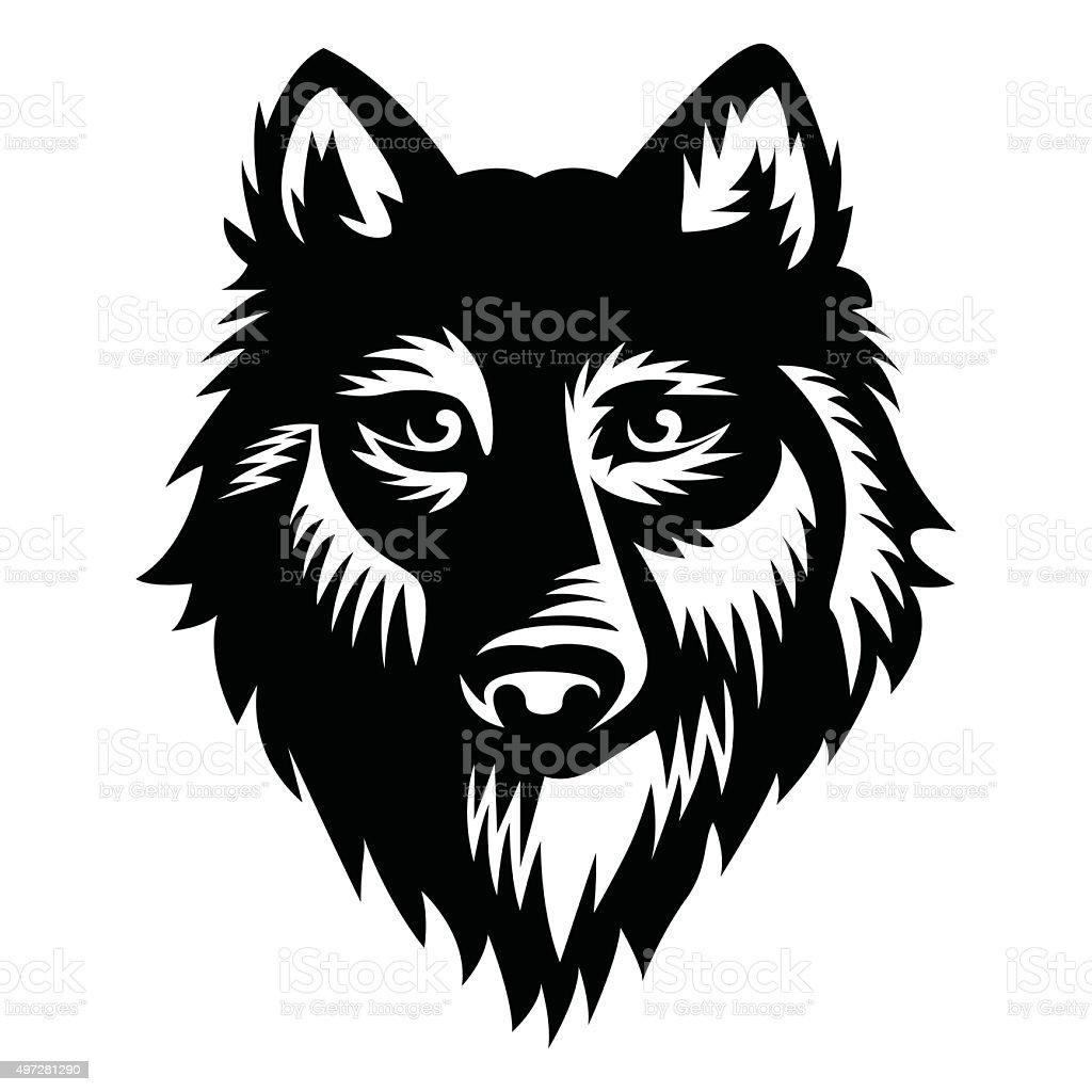 wolf vector illustration vector stock vector art amp more