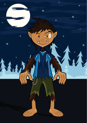 Wolfy the Werewolf from Teen Terrors
