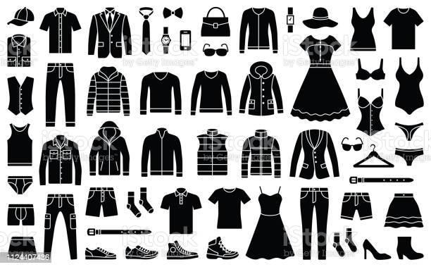 Woman and man clothes vector id1124407436?b=1&k=6&m=1124407436&s=612x612&h=jyithpmc3biycfc66djom6hkdnysbgiveqjp5m9w2ri=