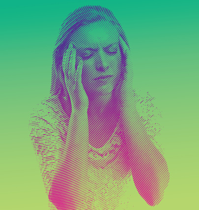 Woman and Migraine Headeache