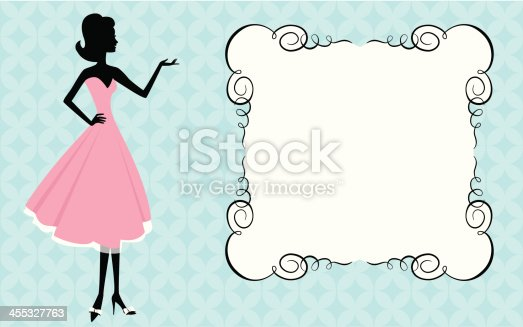 578573556istockphoto Woman and sign 455327763