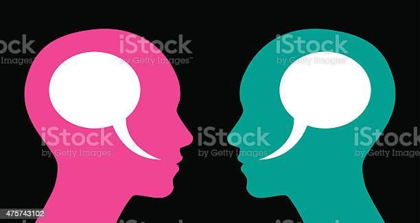 Woman and woman speech bubbles vector id475743102?b=1&k=6&m=475743102&s=612x612&h=e9tqcqc8trdnti0dgs6svvmvofby8u 1hg3hst4smaa=