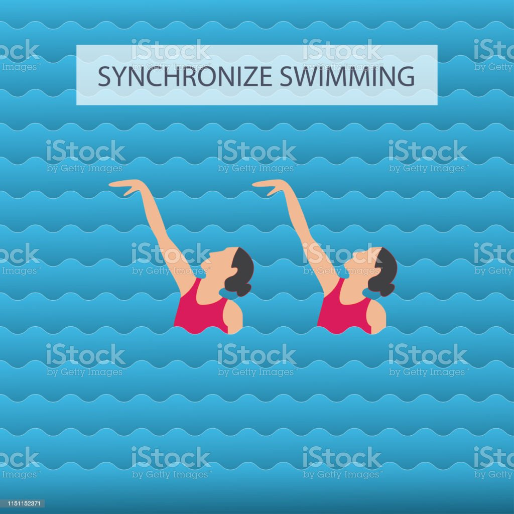 62c8c26ea0dd Ilustración de Mujer Atleta En El Rendimiento De La Natación ...