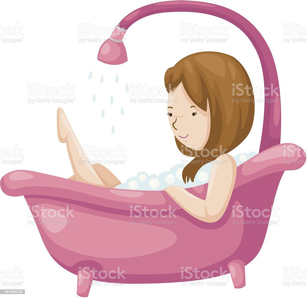 https://media.istockphoto.com/vectors/woman-bathing-in-bathtubvector-vector-id161930700