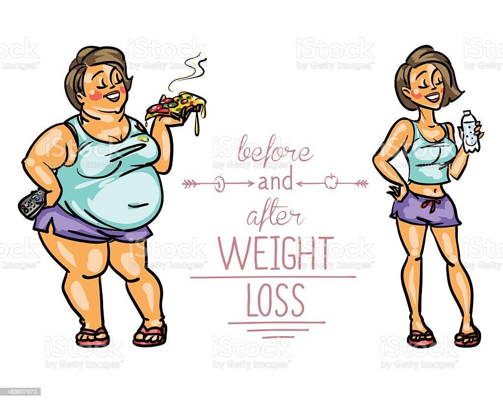 Смешные картинки до и после похудения, новым утром создать