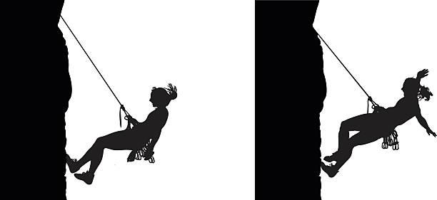 woman 凱旋(降順) - ロッククライミング点のイラスト素材/クリップアート素材/マンガ素材/アイコン素材