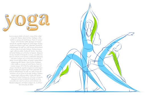 Woman doing asana for International Yoga Day on 21st June