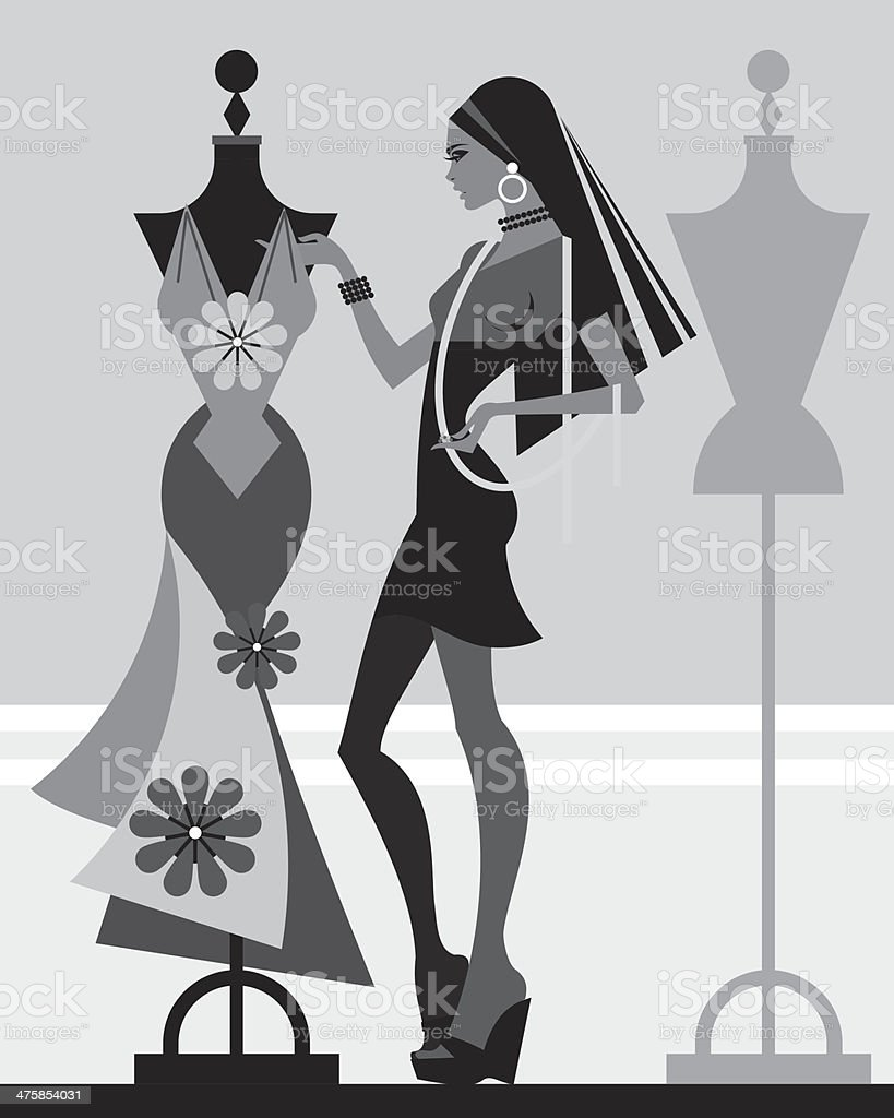 Dress form vector art images