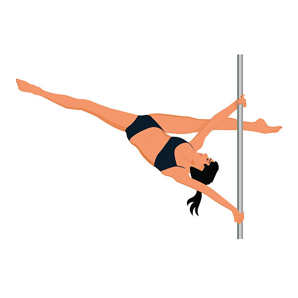 Download Best Pole Dance Illustrations, Royalty-Free Vector ...
