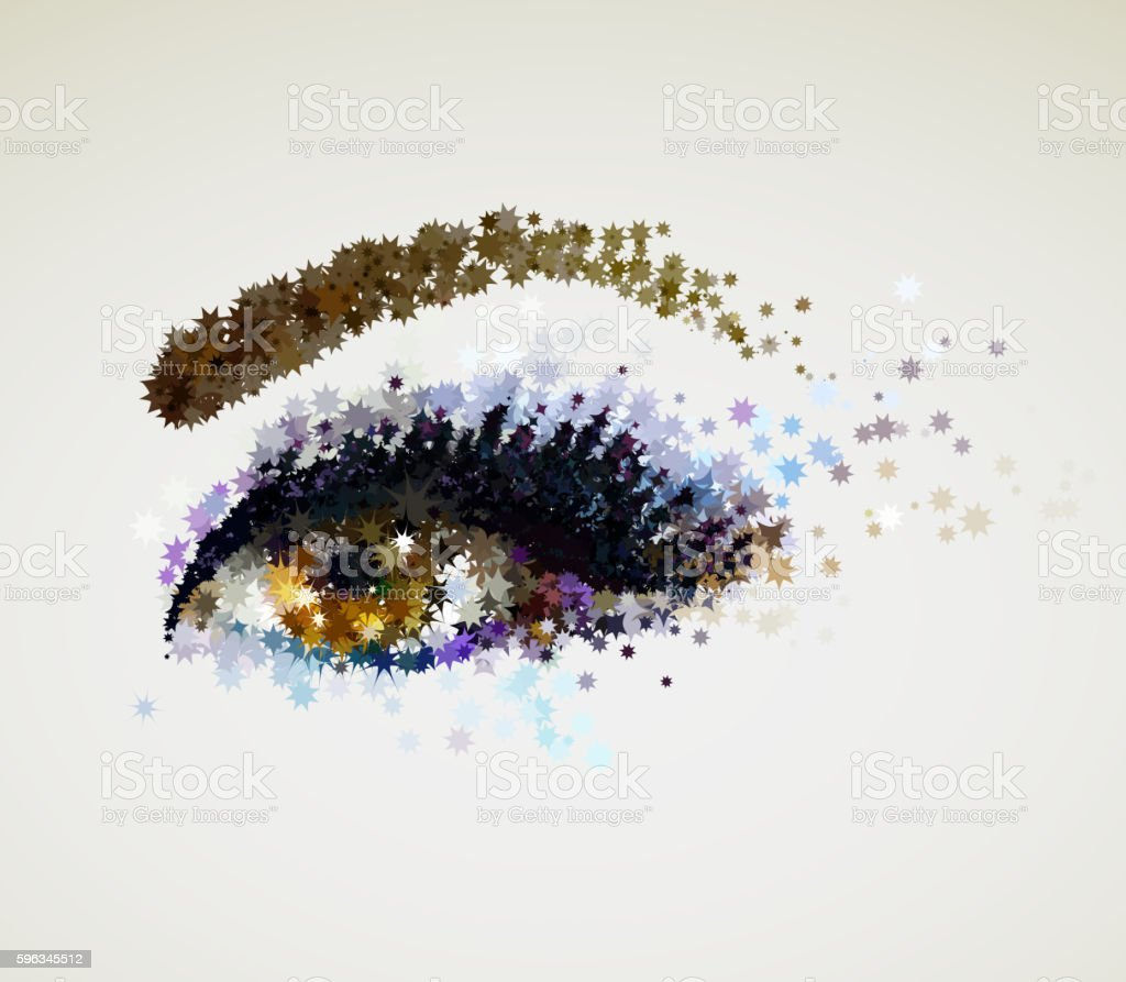 woman eye royalty-free woman eye stock vector art & more images of abstract