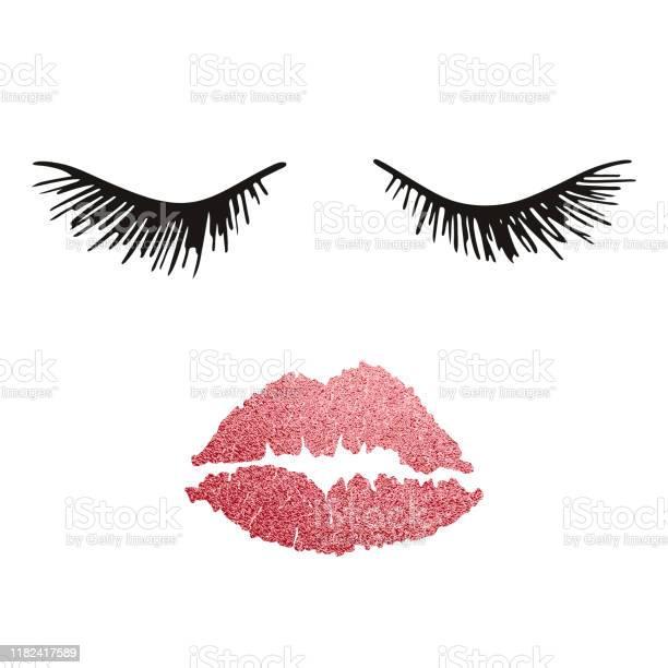 Woman face beauty concept eyelashes and lips make up vector vector id1182417589?b=1&k=6&m=1182417589&s=612x612&h=ti0bfhfywfiv qck8ovkh5fdi9lkavwk6otojug3n14=
