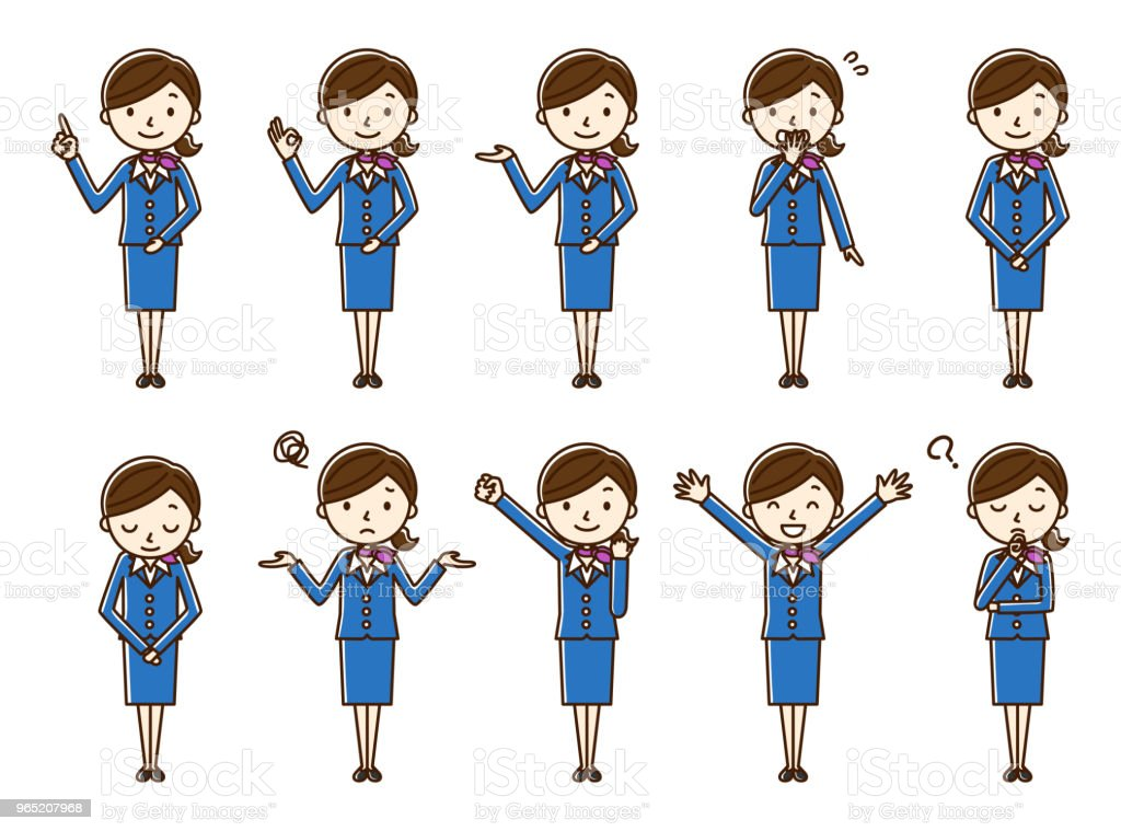 woman flight attendant royalty-free woman flight attendant stock vector art & more images of adult
