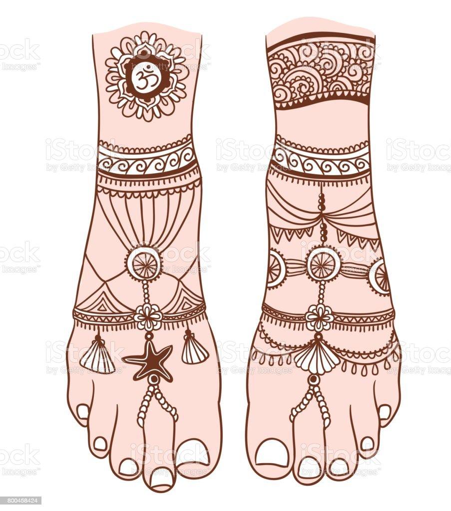 Fuss frauen tattoo motive Tattoo
