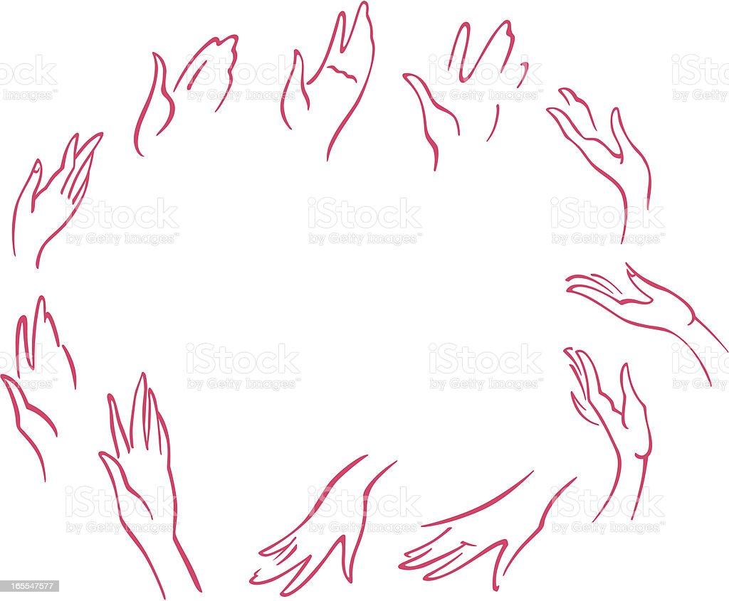 女性の手 イラストレーションのベクターアート素材や画像を多数ご用意