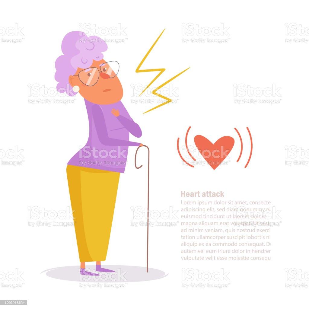 Vetores De Mulher De Ataque De Coracao Vetor Dos Desenhos Animados