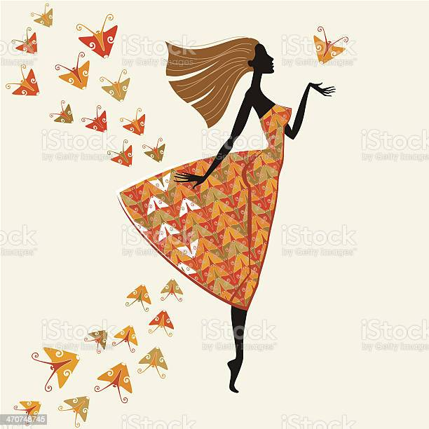 Woman in dress of butterflies vector id470748745?b=1&k=6&m=470748745&s=612x612&h=g qugzgojezda3iyozjxk7i6mbjk55gb48rdhuztctk=