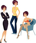 More fashion related vectors here: