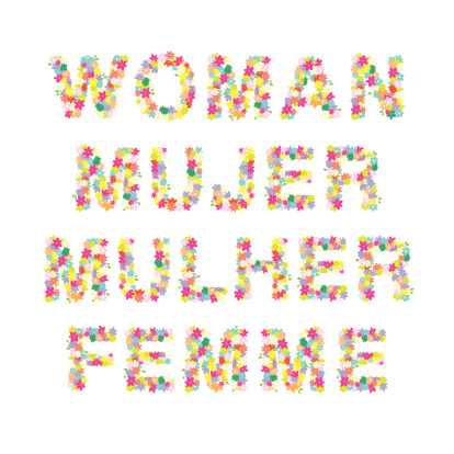 Woman Mujer Mulher Femme Word