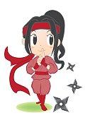 woman ninja, kunoichi