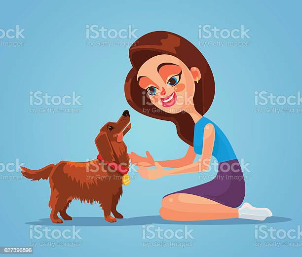 Woman owner character play with her dog pet vector id627396896?b=1&k=6&m=627396896&s=612x612&h=mdbn xwpsrfh wdhq uezgmb0xn3fhoo7bomkhp sey=