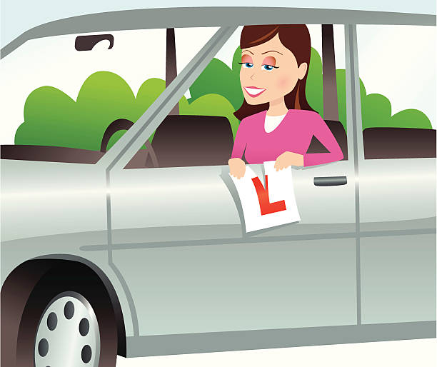 Best Driving Test Illustrations, Royalty-Free Vector ...