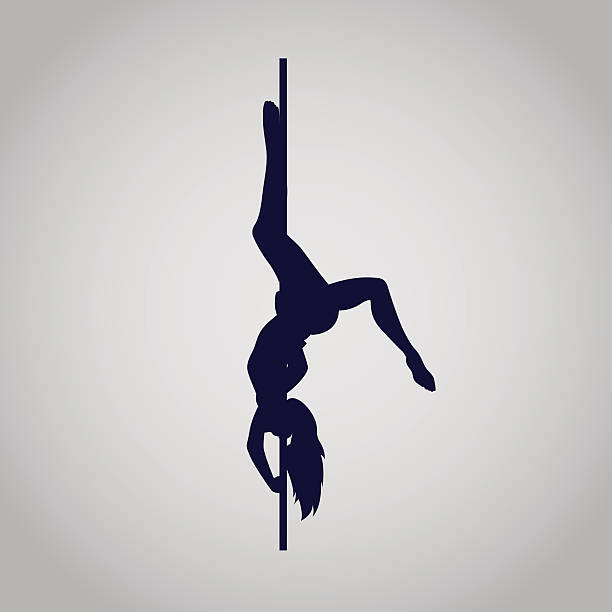 royalty free pole fitness clip art vector images illustrations