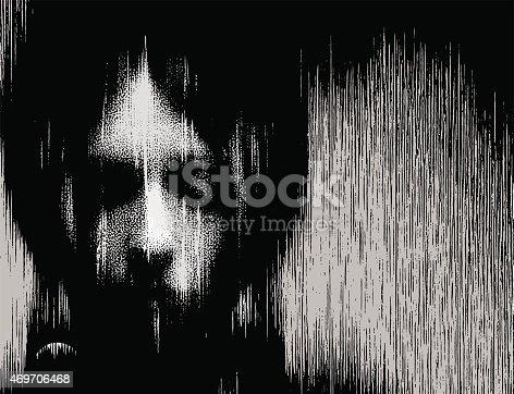 istock Woman Portrait Ghost 469706468