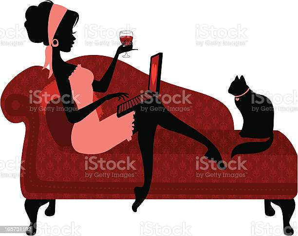 Woman relaxing with laptop vector id165731192?b=1&k=6&m=165731192&s=612x612&h=bahwlck2gxlrmmy7oertf3knb3lvrfp0tigv1mt2sc8=